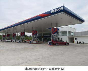 Kuantan, Malaysia - April 27, 2019: Petron Corporation is an emerging and rapidly-evolving Asian oil company. Petron gas station in Kuantan