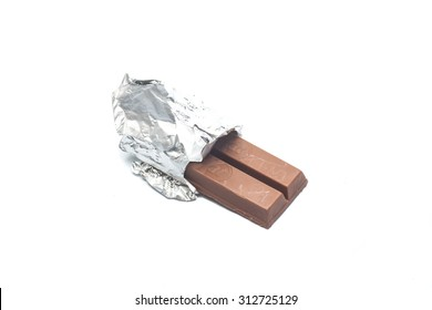 KUANTAN, MALAYSIA - SEPTEMBER 2, 2015: Open wrapping cover of Kit Kat chocolate bar. Kit Kat is a chocolate biscuit bar confection that is manufactured by Nestle