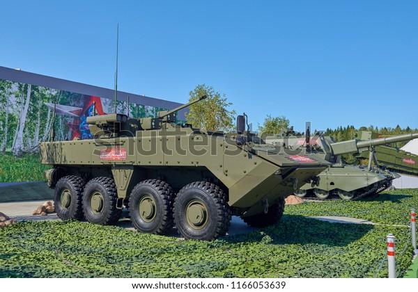 Kubinka Russia Aug24 2018 Russian Military Stock Photo (Edit