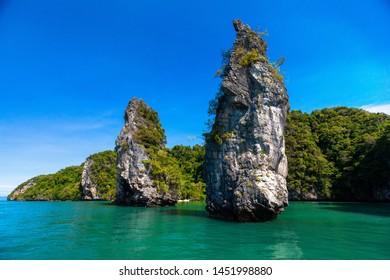 Kudu Island or Koh Kudu Yai in Phang Nga Bay, Thailand.