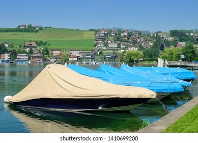 Kuessnacht at Lake Lucerne in Schwyz Canton,Switzerland