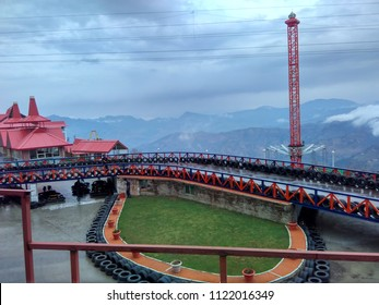 Kufri Amusement Park, race track, Kufri, Shimla, Himachal Pradesh,India