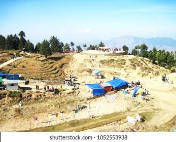 Kufri hill station near to Shimla