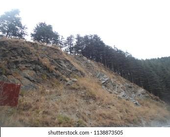 Kufri Scenes at Shimla, Himachal Pradesh, India on 15 Dec 2012