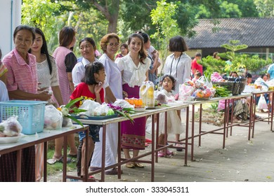 kuiburi PRACHUAP KHIRI KHAN, THAILAND - october 28:end of Buddhist Lent at Kuiburi on october 28, 2015. Lent is traditionally favors Kui Buri, Prachuap Khiri Khan, Thailand.