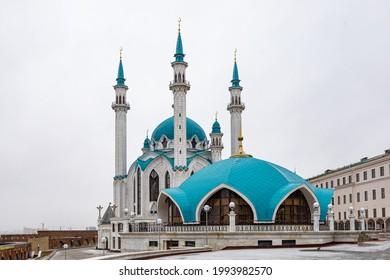 Kul Sharif Mosque in the Kazan Kremlin