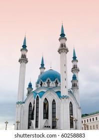 the Kul Sharif mosque, Kazan, Russia, Republic of Tatarstan