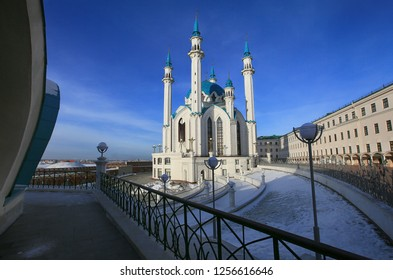 Kul Sharif Mosque in Kazan in winter. Russia