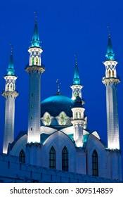 Kul Sharif mosque is largest in Europe. Russia. Kazan