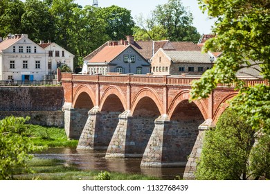 Kuldiga Old Bridge-the widest waterfall in the Baltics on the River Vent and Ventas Rumba Waterfall