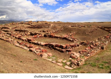 Kultepe ruins. Assyrian Trade Center in Kayseri. The Old Assyrian. Karum-Kanis. Turkey.