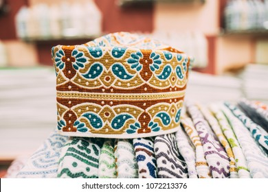 Kuma, the traditional decorated cap in Oman