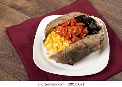 Kumpir - Turkish Baked Potato Mixed