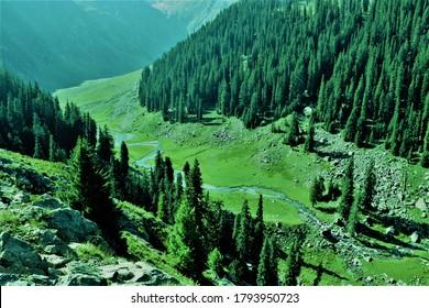 Kumrat is the Beautiful Place of Pakistan
