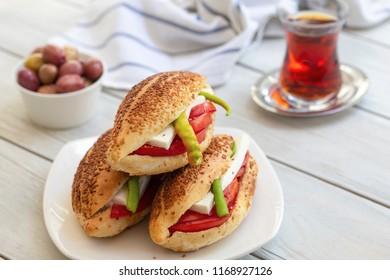 Kumru; Traditional Turkish (Izmir) Sandwich