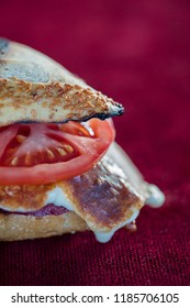 kumru, turkish traditional snack sandwich, known as izmir kumru