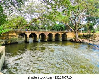 Kunchu kulam tank feeder bridge