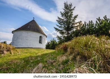 Kunstatska kaple in Orlicke hory in Czech republic. - Shutterstock ID 1951428973
