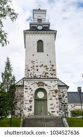 Kuopio Cathedral in summer, Kuopio, Northern Savonia, Finland