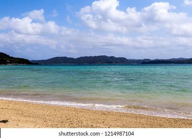 Kurasaki beach.Shooting location is Amami Oshima Island, Kagoshima Prefecture, Japan.