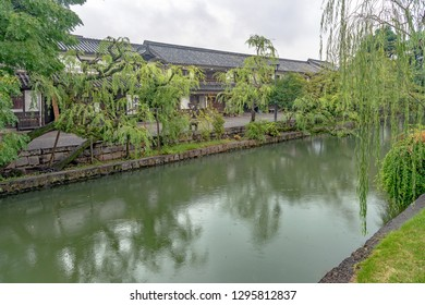 Kurashiki beautiful sight area in Kurashiki city, Japan