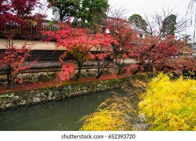 Kurashiki Bikan Historical Quarter, Kurashiki City, Okayama Prefecture, Japan. Kurashiki Bikan Historical Quarter is Okayama's number one sightseeing spot.