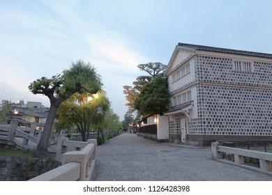 the kurashiki bikan historical quarter japan