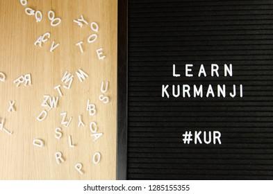 Kurmanji, Northern Kurdish language