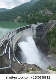 Kurobe 4th Dam, Japan