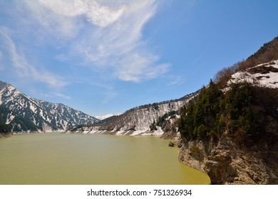 Kurobe Dam, Japan's largest dam and indeed one of the largest in the world, is a well-known tourist spot of Toyama, completed in 1963. With a height of 186m, it remains the tallest dam in Japan.