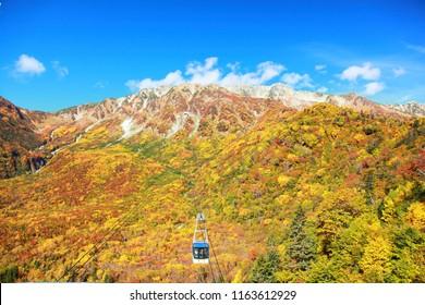 Kurobe tateyama alpine route toyama prefecture japan
