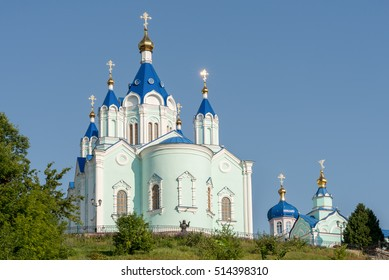 Kursk city, Russia. The Korennaya Monastery in the Kursk region, based on the alleged site of the apparition of the Kursk icon
