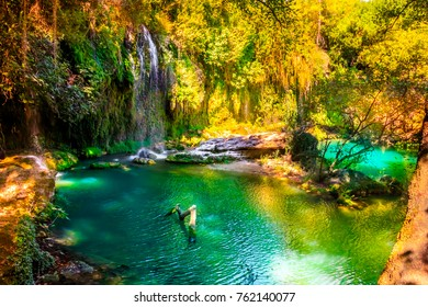Kursunlu Waterfalls Turkey