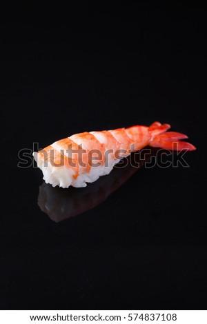 Kuruma Ebi Sushi Stock Photo Edit Now 574837108 Shutterstock