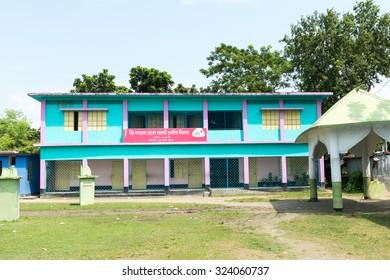 Kushtia, Bangladesh - September 28, 2015: The House of Mir Mosharraf Hossain. He was a Bengali language novelist, playwright and essayist. He is principally known for his famous novel Bishad Sindhu.