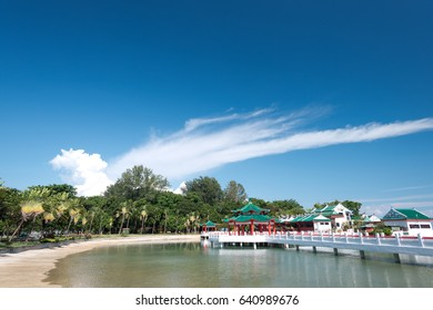 Kusu Island's Chinese Temple, in Singapore