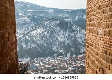 Kutahya old city panoromic view.Kutahya,Turkey