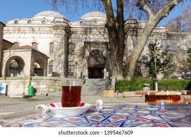 Kutahya, Turkey - Ulucami Mosque, It is the biggest and the oldest Mosque in Kutahya, Turkey - It has been completed on 1401 AC. in Ottoman Empire era.