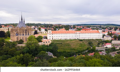 Kutna Hora, Czech Republic. Church of Saint Barbara. UNESCO world heritage site in Kutna Hora, Czech Republic. - Shutterstock ID 1629956464