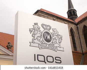 KUTNA HORA, CZECH REPUBLIC - MAY 4, 2019: Philip Morris tobacco museum and IQOS store in Kutna Hora. Philip Morris CR is the subsidiary of Philip Morris International.