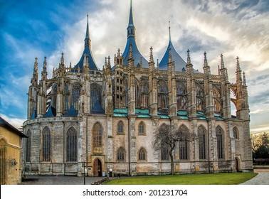 Kutna Hora. Czech. St Barbara Cathedral