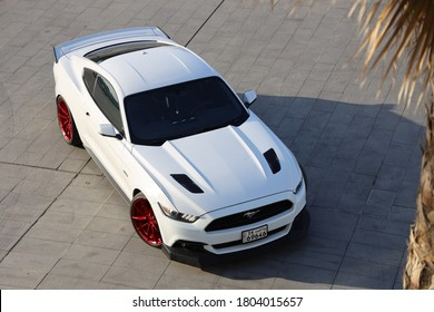 kuwait city, kuwait - Feb 24,2020, Ford Mustang GT, American muscle cars