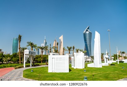 Kuwait City in Miniature at Al Shaheed Park. Kuwait, the Middle East