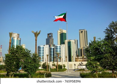 KUWAIT CITY, KUWAIT - October 30, 2016: Kuwait cityscape