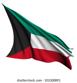 Kuwait flag - collection no_4