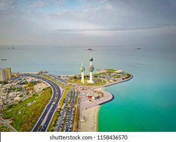 Kuwait tower focus