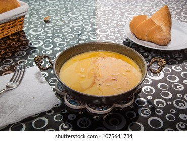 Kuymak - cheese corn porridge - turkish food.artvin savsat
