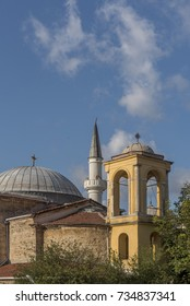 Kuzguncuk Mosque and Surp Krikor Lusavoric Church, Kuzguncuk neighborhood in the Uskudar district