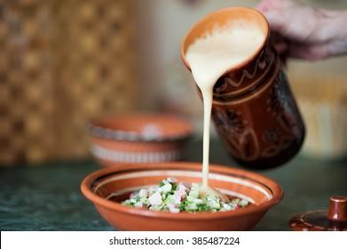 Kvass and okroshka - Traditional Russian cuisine