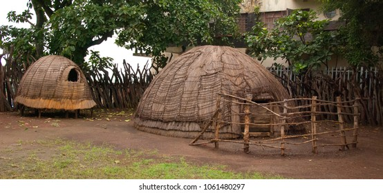 KWAZULU NOVEMBER 27 10 : Zulu hut of rural zululand, KwaZulu was a bantustan in South Africa, intended by the apartheid government as a semi-independent homeland for the Zulu people.
